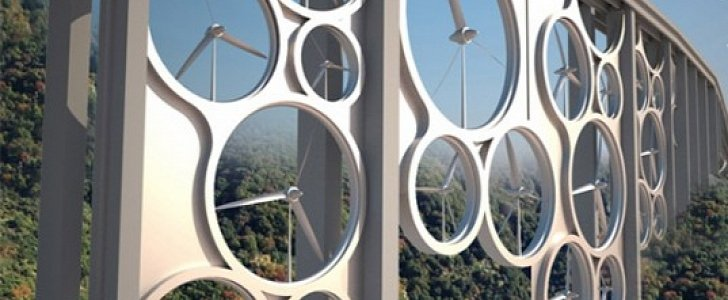 Viaducts Could Produce Energy through Wind Turbines in the Future ...
