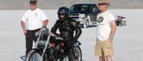 Victory Motorcycle Breaks Speed Record at Bonneville