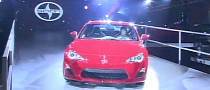 Video of 2013 Scion FR-S Making LA Debut Released