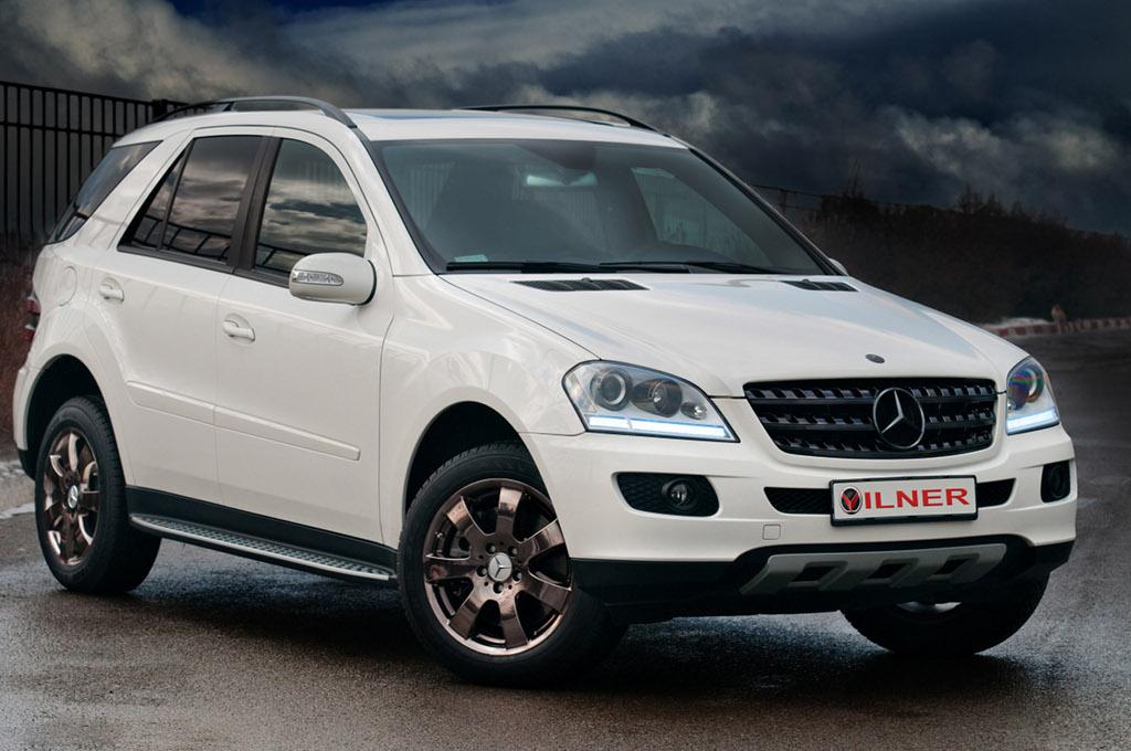 Vilner Mercedes Ml 350 Autoevolution