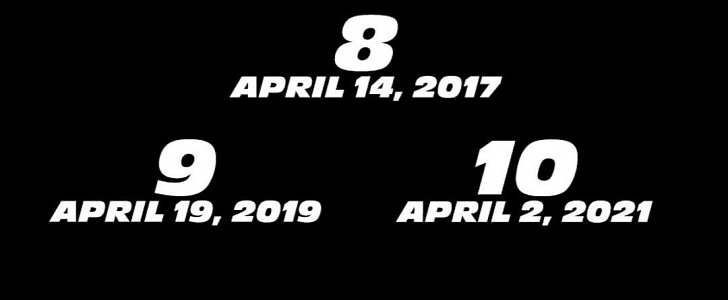 Vin Diesel Confirms Fast Amp Furious 8 9 And 10 On
