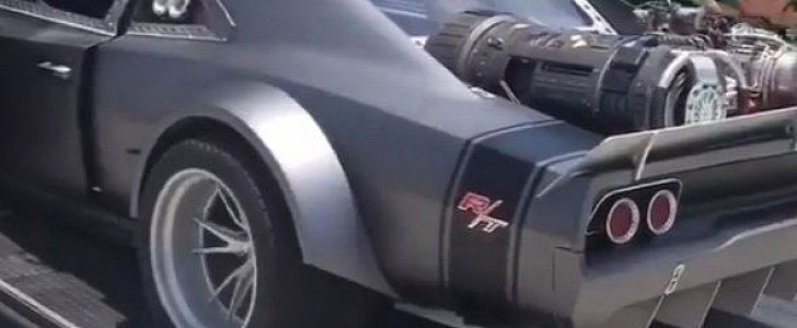 Vin Diesel S Ice Dodge Charger Sounds Brutal On Fast And