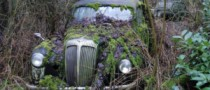 Vintage British Cars Found in Remote Barnyard to Sell for Thousands