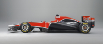 Virgin Considered Forward Exhausts for MVR-02