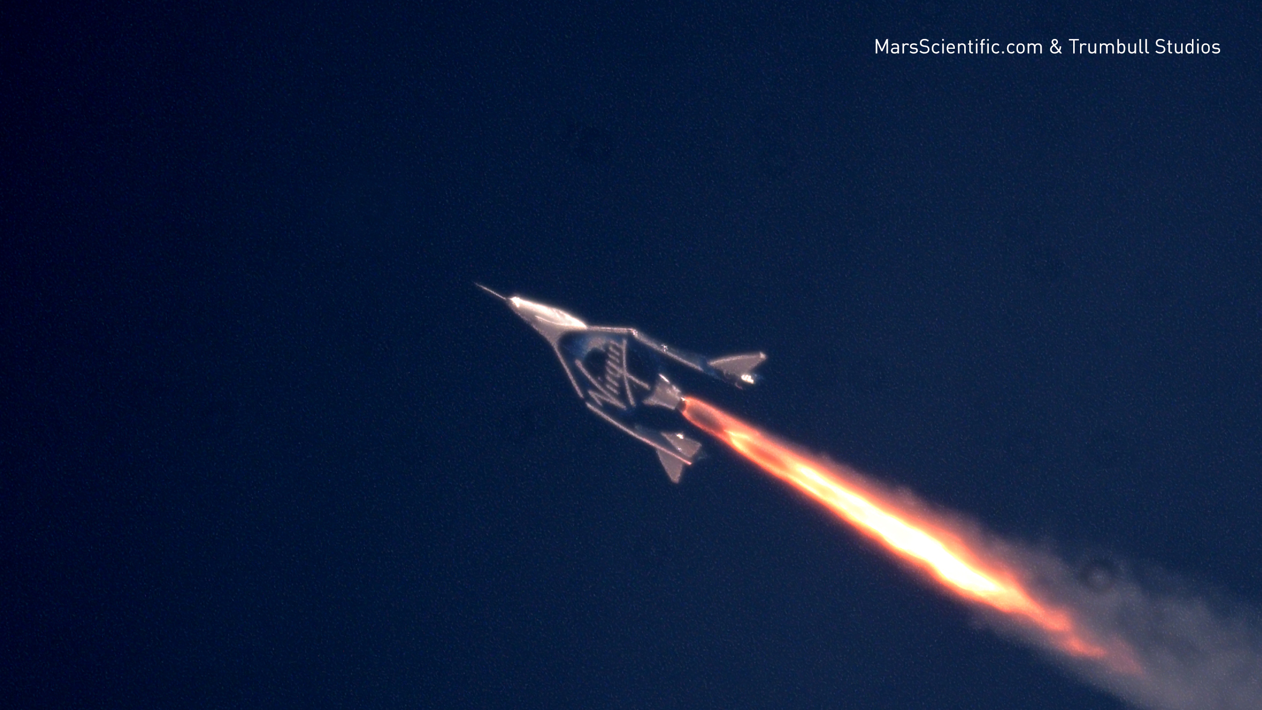 Virgin Galactic Spaceship Breaks Mach 2 Reaches Mesosphere For The