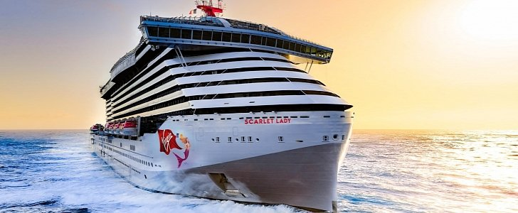 Virgin Launches First Adults-Only Cruise Ship Scarlet Lady - autoevolution