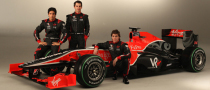 Virgin Racing Launches New VR-01 for 2010