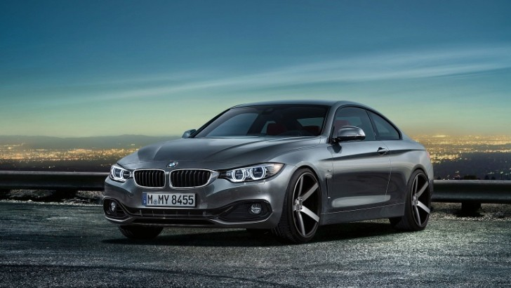 Virtual Tuning: 2014 BMW 4 Series on Vossen Wheels