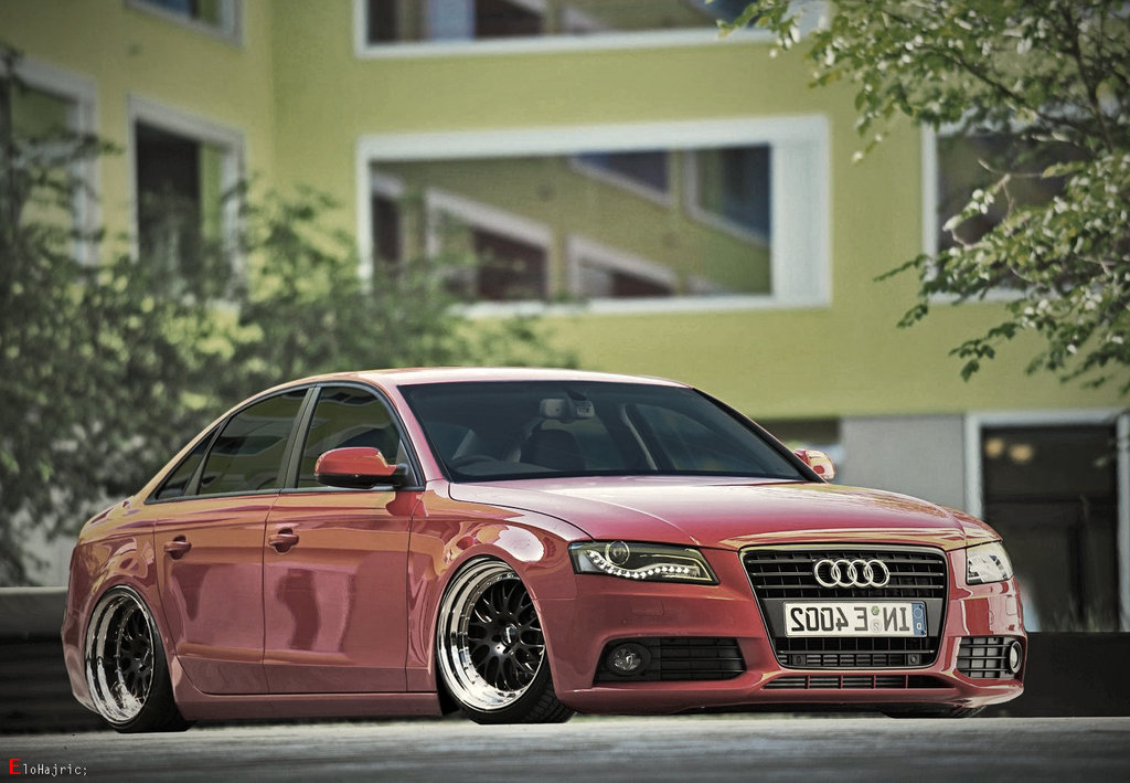 Virtually Modified Audi A4 Is Here To Please You