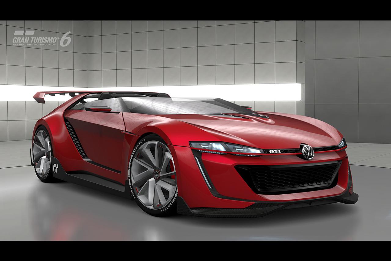 Виртуальный суперкар VW GTI Roadster Vision Gran Turismo