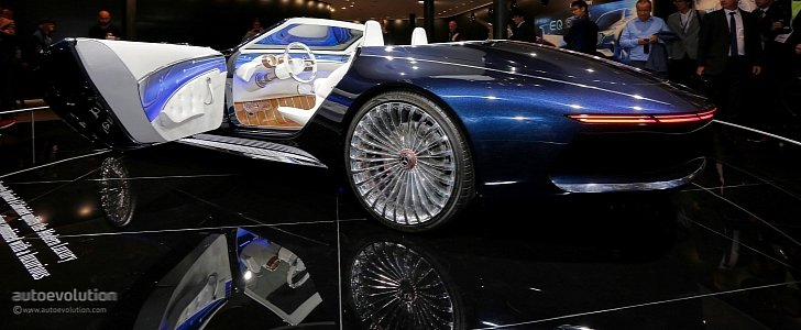 vision mercedes maybach 6 cabriolet is a staple of luxury at iaa 2017 autoevolution. Black Bedroom Furniture Sets. Home Design Ideas