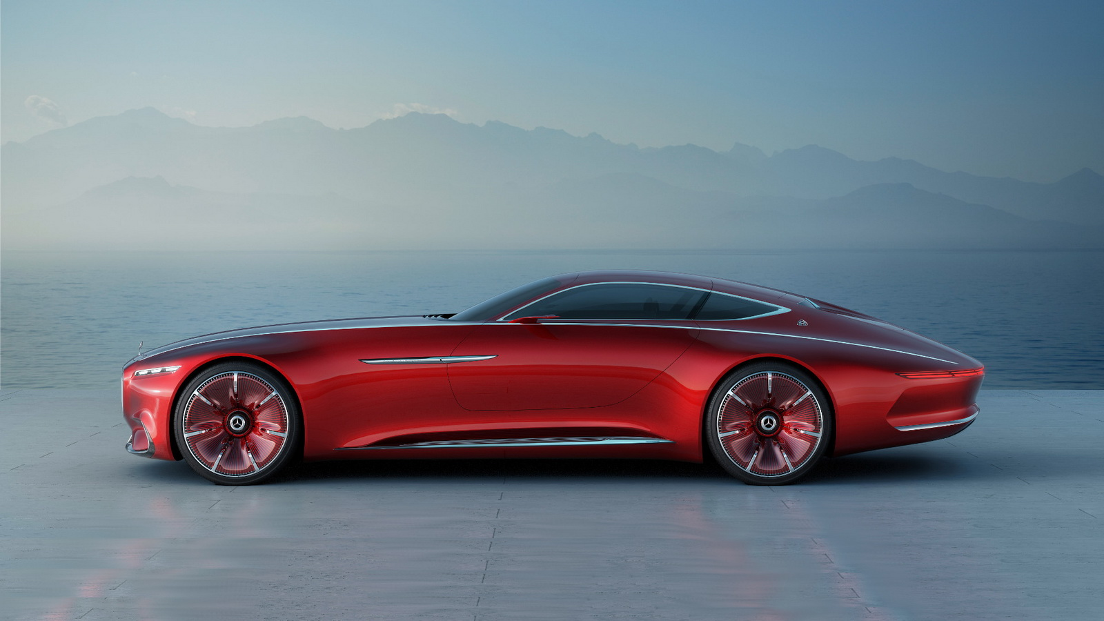 vision mercedes maybach 6 concept leaks ahead of official debut autoevolution. Black Bedroom Furniture Sets. Home Design Ideas