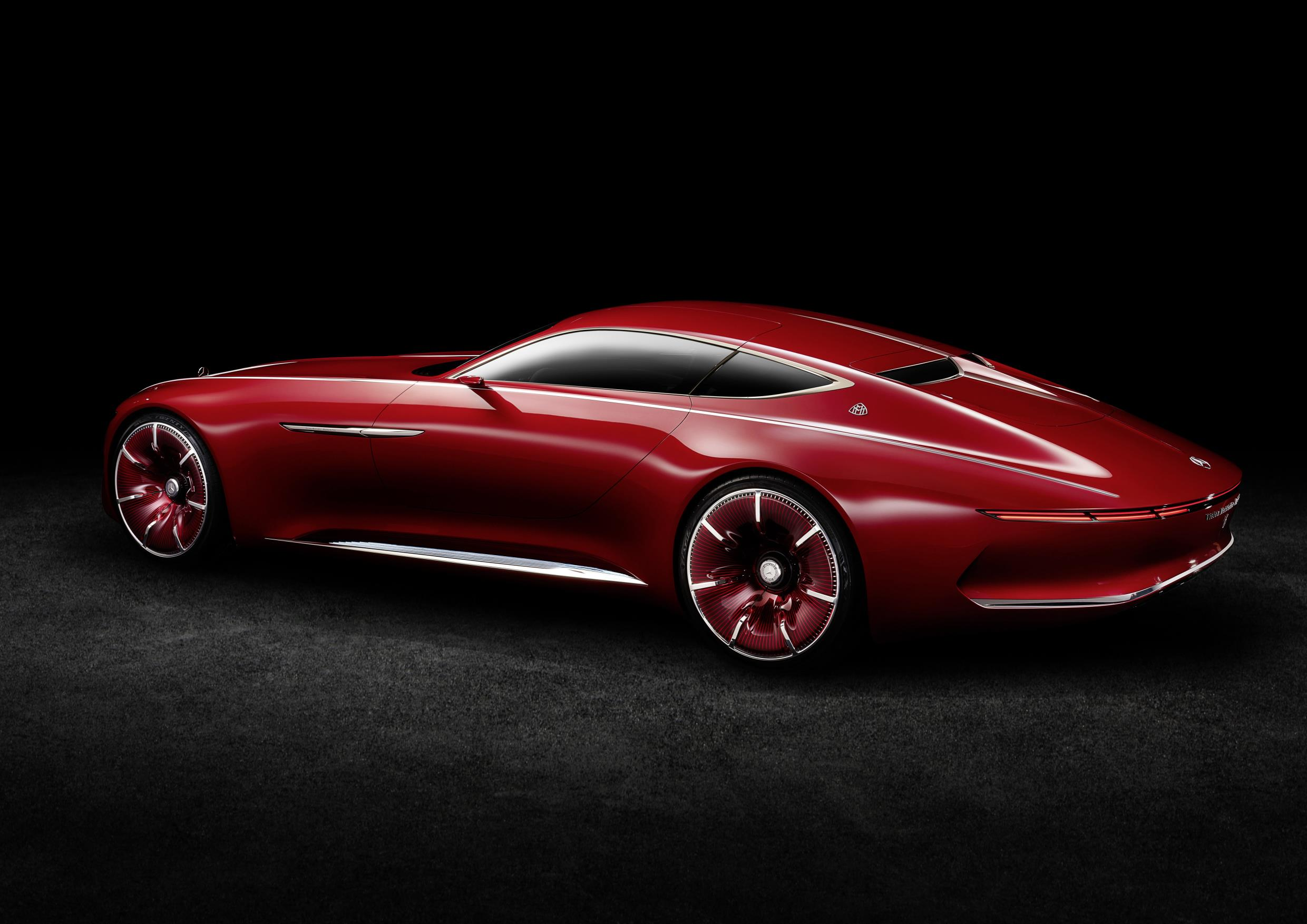 vision mercedes maybach 6 electric vehicle concept is out of this world autoevolution. Black Bedroom Furniture Sets. Home Design Ideas