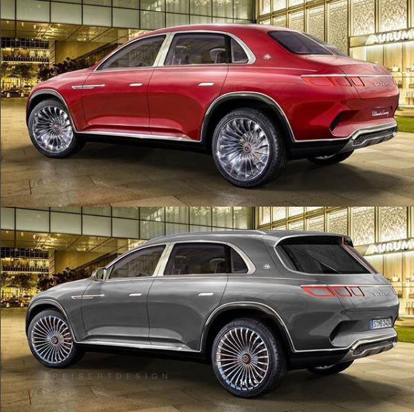 vision mercedes-maybach ultimate luxury gets full suv treatment in