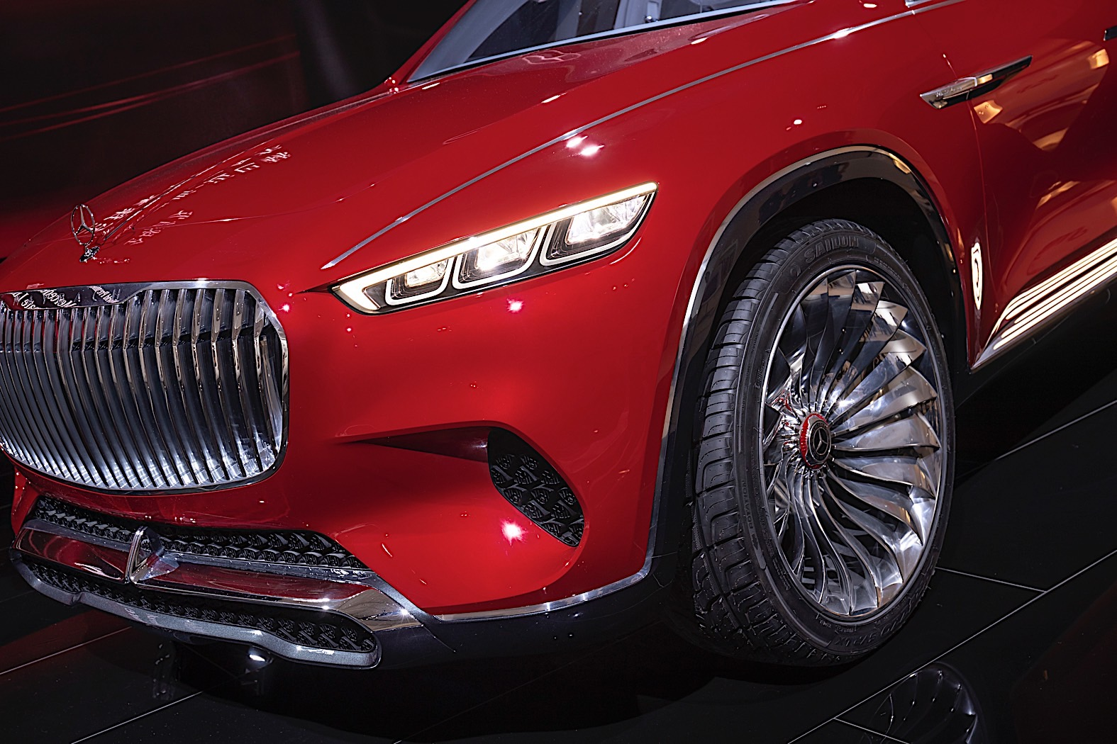 Vision MercedesMaybach Ultimate Luxury Stuns At Auto China - Luxury car show 2018