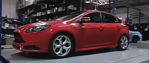 Vivid Racing Lowers Ford Focus ST on KW V3 Coilovers [Video]