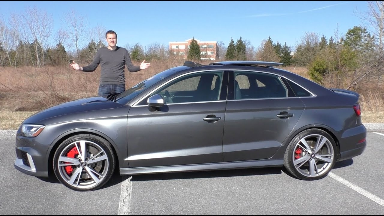 Vlogger Says The Rs3 Sedan Is The Best Car Audi Makes