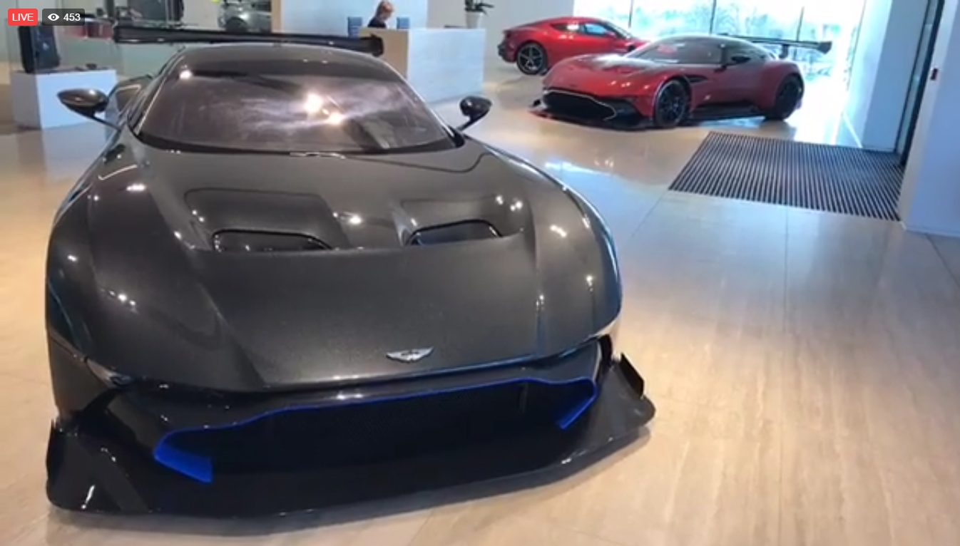 Trying To Sell A 5 Million Aston Martin Vulcan On Facebook Live Autoevolution