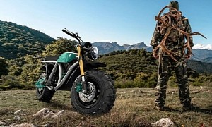 Volcon Grunt Off-Road Motorcycle to Use Linear Motors and Camburg Suspension