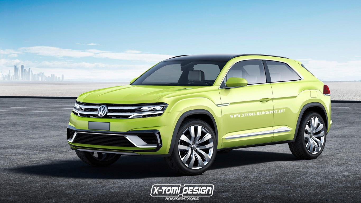 Volkswagen 3 Door Suv Rendering Based On Cross Coupe Gte Autoevolution