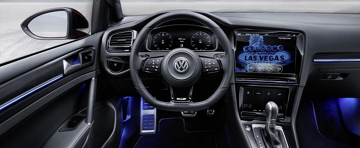 volkswagen aims for a button less interior to avoid driver distraction autoevolution. Black Bedroom Furniture Sets. Home Design Ideas