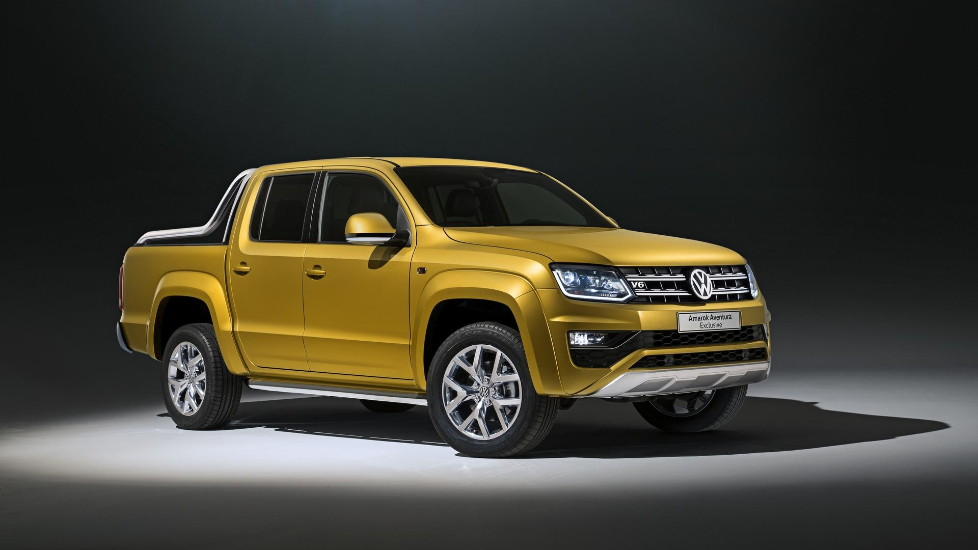 volkswagen amarok aventura exclusive concept gets new 3 0 tdi v6 with 258 ps autoevolution. Black Bedroom Furniture Sets. Home Design Ideas