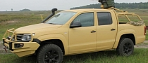 Volkswagen Amarok Becomes Military Vehicle [Photo Gallery]