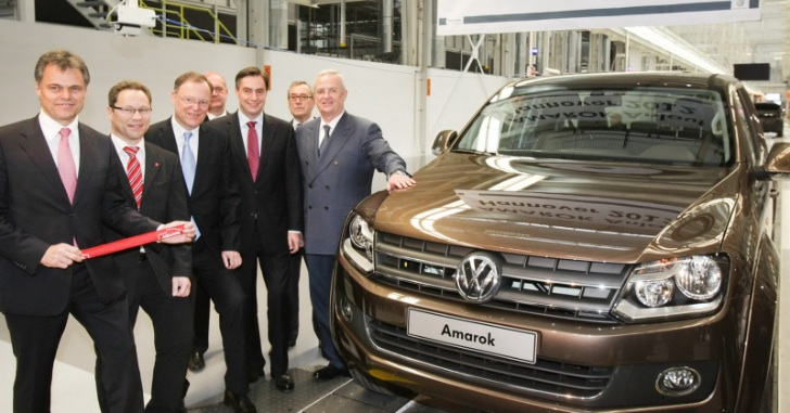 Volkswagen Amarok German Production Starts in Hanover