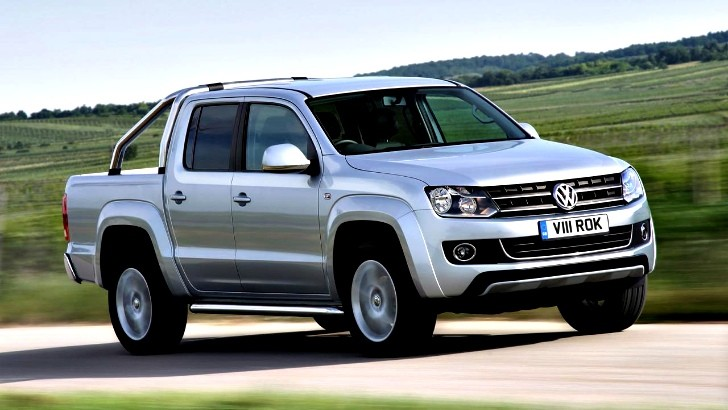 Volkswagen Amarok Gets 180 HP Engine and Optional BlueMotion
