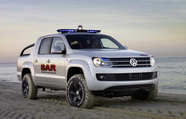 Volkswagen Amarok Pickup Concept Autoevolution