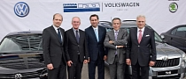 Volkswagen and GAZ Sign Agreement to Assemble Cars in Russia