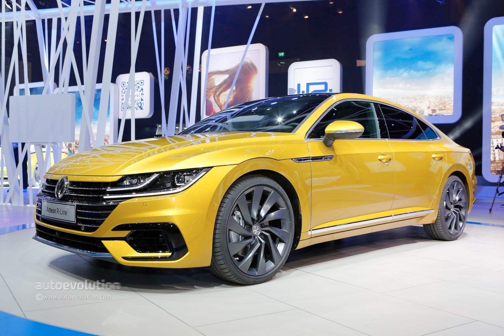 Volkswagen Arteon R Said To Pack Over 400 Hp From Vr6 Autoevolution