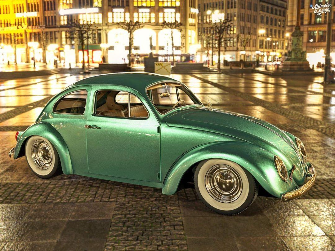 Volkswagen Beetle Grand Tourer Is A Bugatti On A Budget Autoevolution