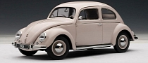 Volkswagen Beetle Kaefer Limousine 1955 Scale Model Is Awesome [Photo Gallery]