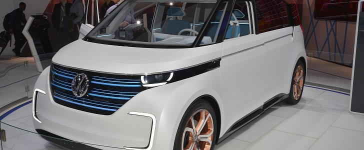 Volkswagen BUDD-e Concept Looks like a Scion Gadget at New York Debut