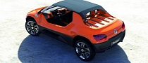 Volkswagen Buggy Up Concept Takes You to the Beach [Photo Gallery]