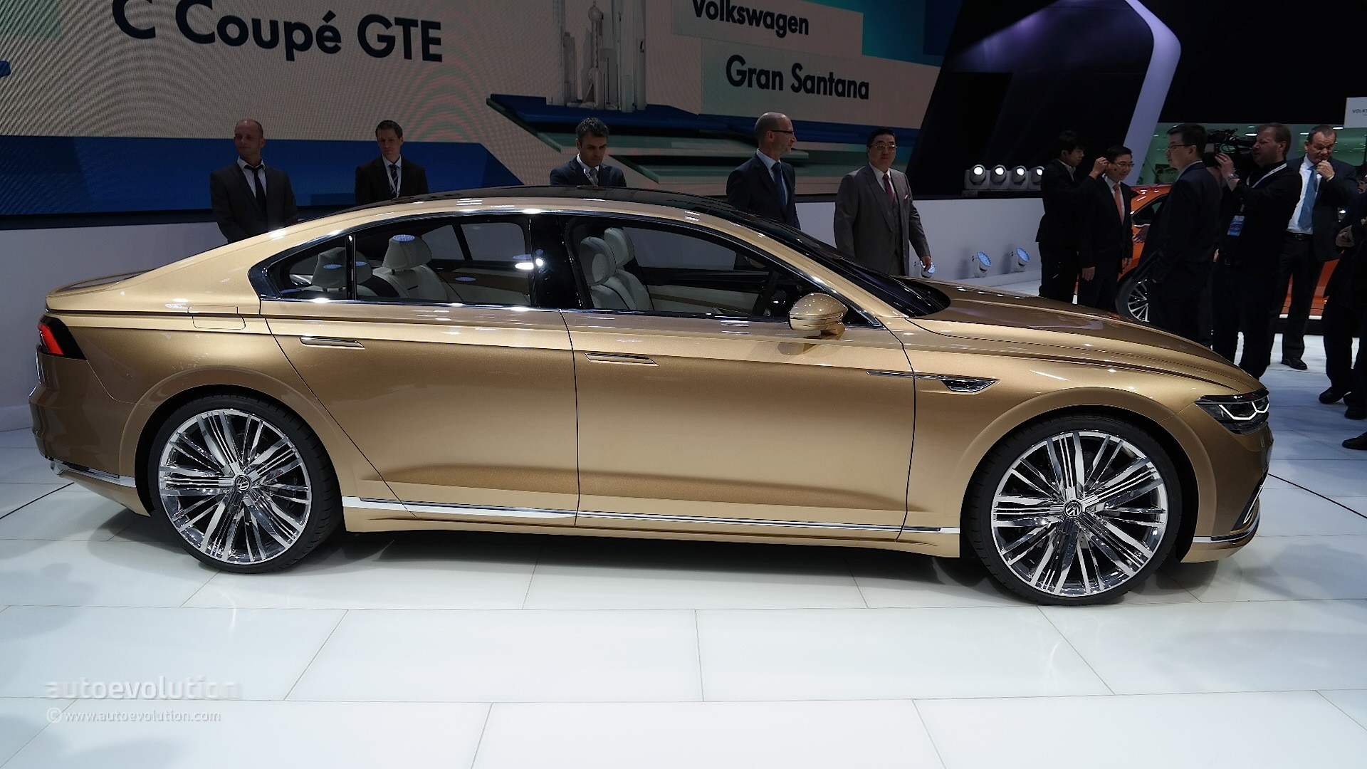 Volkswagen C Coupe Gte Concept Will S Production Model For China
