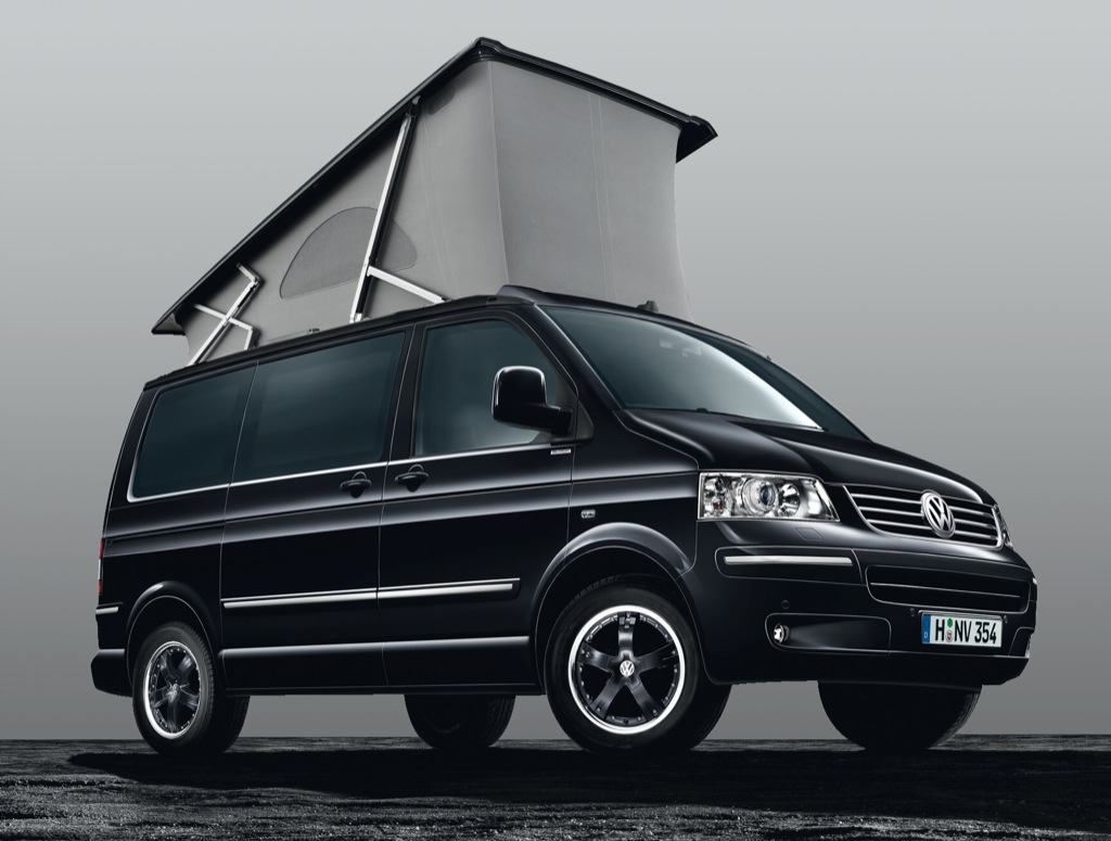 volkswagen california black edition launched in germany autoevolution. Black Bedroom Furniture Sets. Home Design Ideas