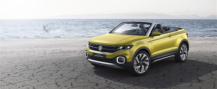 volkswagen confirms t roc cabriolet production in 2020. Black Bedroom Furniture Sets. Home Design Ideas