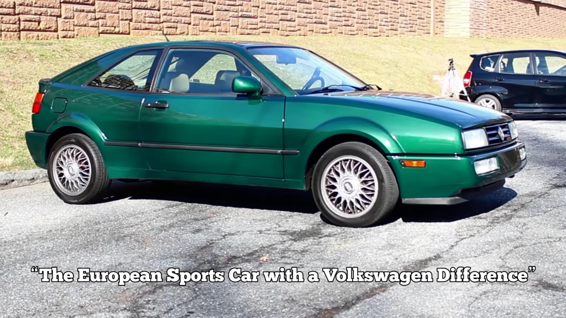Volkswagen Corrado Vr6 Gets The Regular Car Reviews Treatment