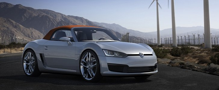 volkswagen could offer an electric sports car - autoevolution