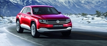 Volkswagen Cross Coupe TDI Plug-In Hybrid Concept Ready for Geneva