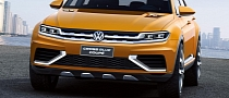 Volkswagen CrossBlue Coupe Photos Leaked: Ins and Outs [Photo Gallery]