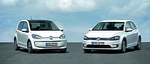Volkswagen e-Golf, e-Up! Coming at Frankfurt 2013