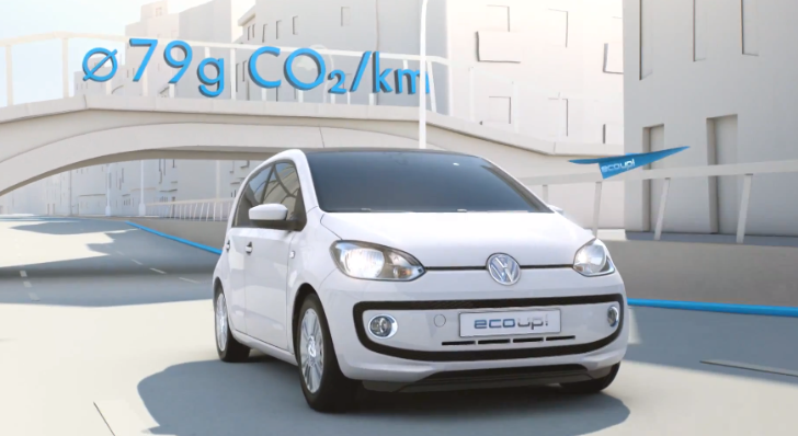 "Volkswagen Eco Up! Stars in ""Think Blue"" Commercial [Video]"