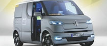 Volkswagen eT Concept Reinvents the Commercial Vehicle