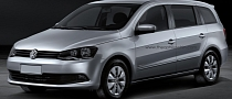 Volkswagen Gol Estate Rendering