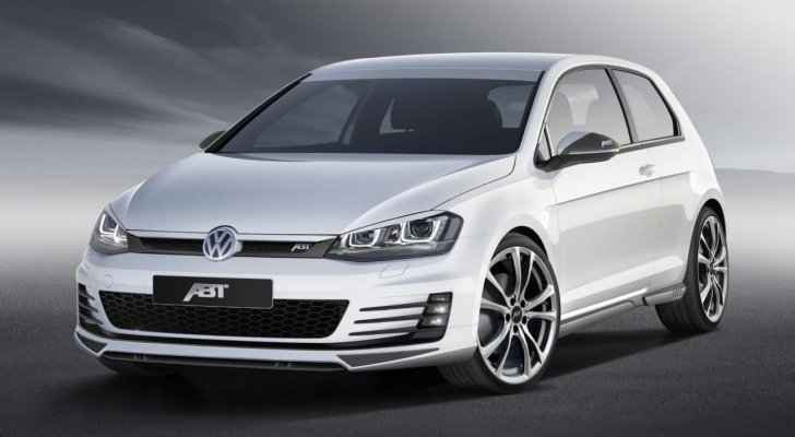 Volkswagen Golf 7 GTD Tuned to 210 HP by ABT