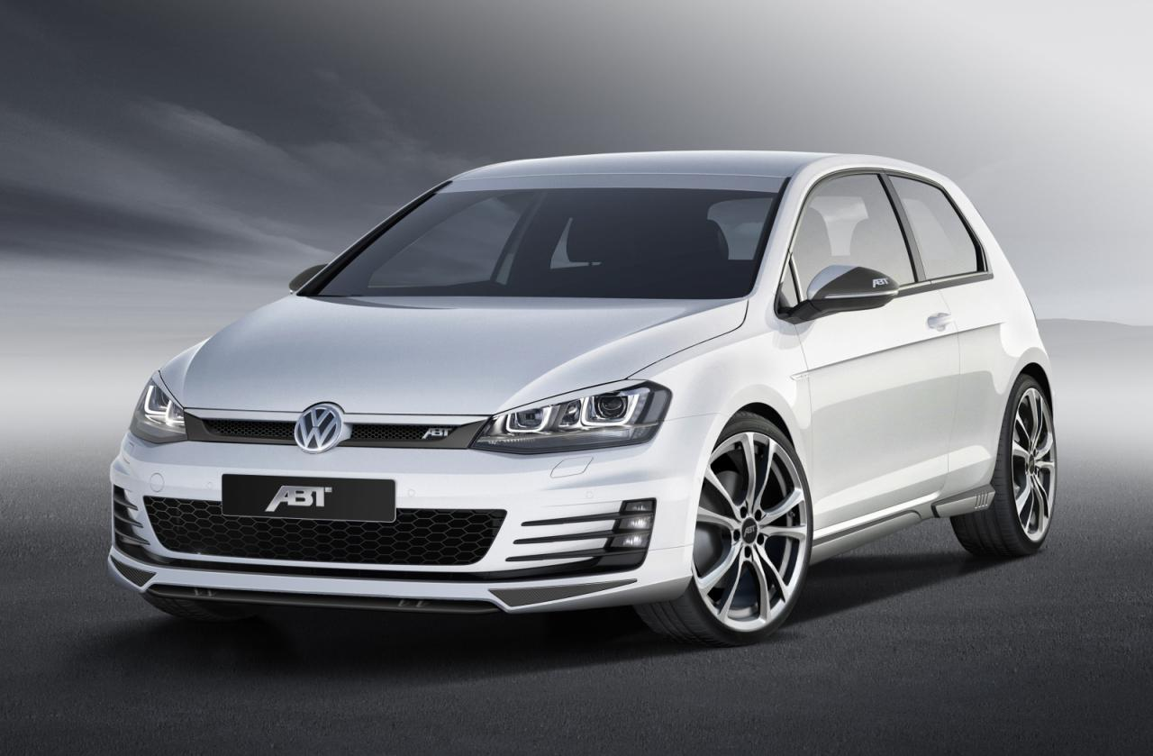 volkswagen golf 7 gtd tuned to 210 hp by abt autoevolution. Black Bedroom Furniture Sets. Home Design Ideas