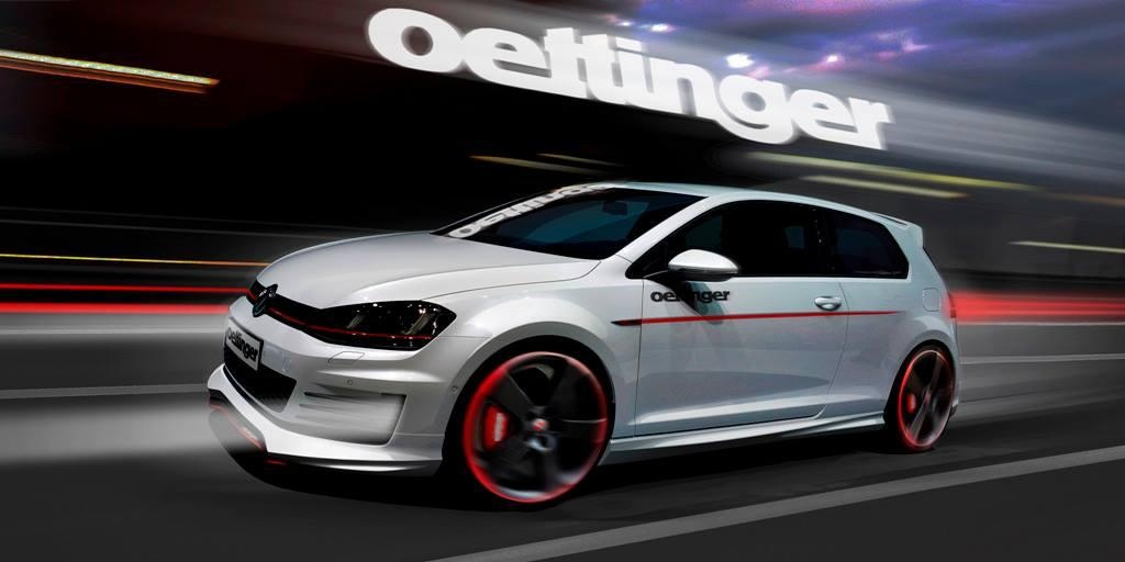 volkswagen golf 7 gti tuned by oettinger 350 hp autoevolution. Black Bedroom Furniture Sets. Home Design Ideas